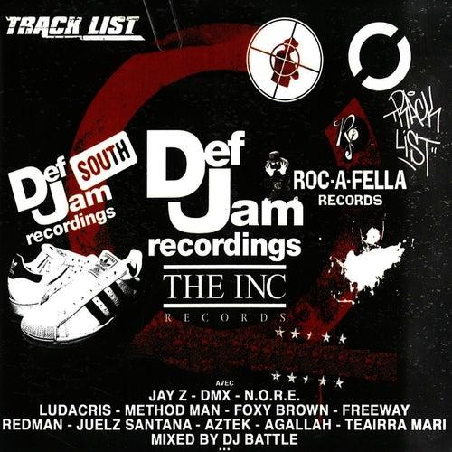 Tracklist Magazine Mixtape Def Jam Edition (The Inc, Roc-a-Fella, South) de Various Artists