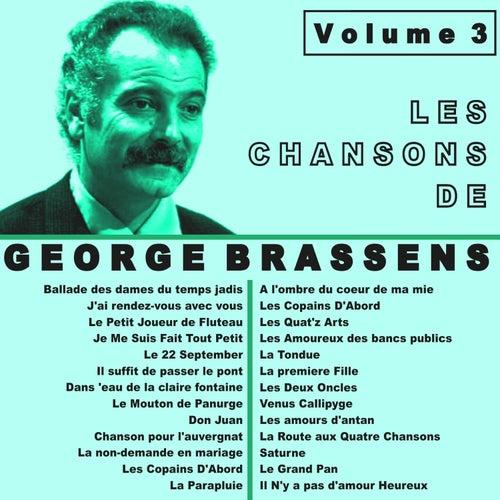 Les chansons de Georges Brassens, Vol. 3 de Georges Brassens