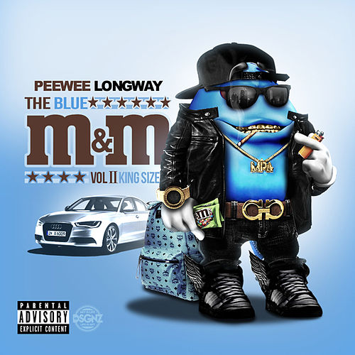 The Blue M&M 2 (King Size) von PeeWee LongWay