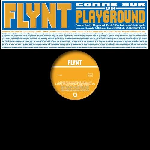 Comme sur un playground de Flynt