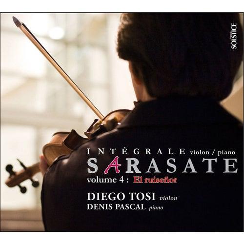Sarasate : El ruiseñor (Intégrale violon & piano - Volume 4) de Diego Tosi