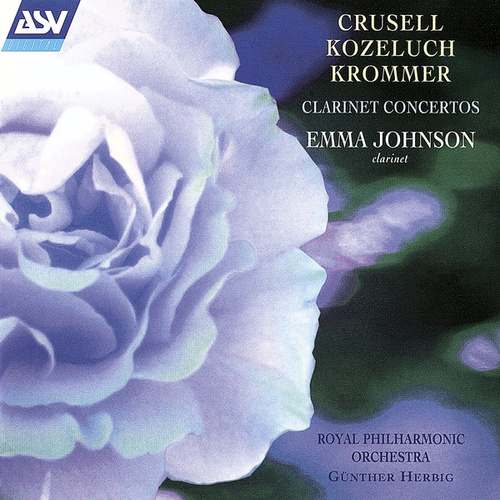 Crusell, Kozeluch, Krommer: Clarinet Concertos de Gunther Herbig