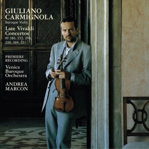 Vivaldi: Late Violin Concertos by Giuliano Carmignola