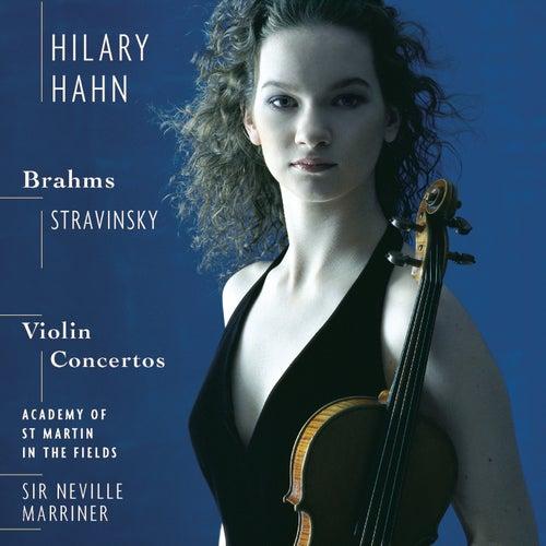 Brahms & Stravinsky: Violin Concertos von Hilary Hahn