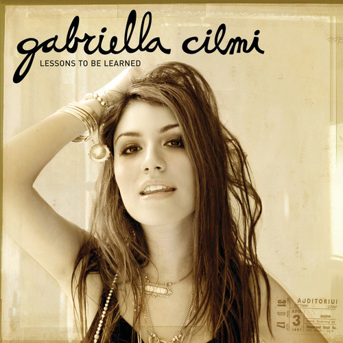 Lessons To Be Learned de Gabriella Cilmi