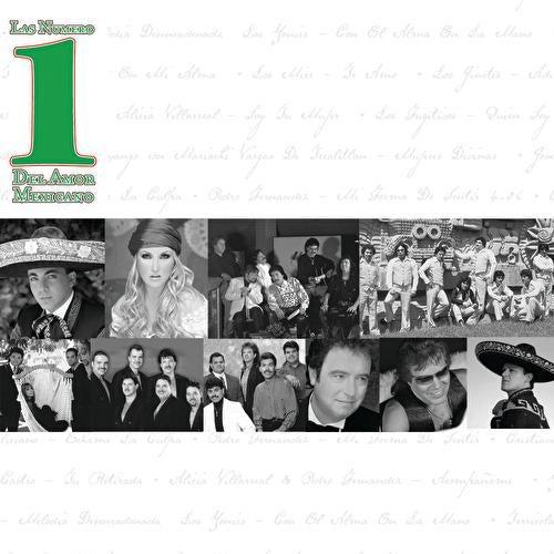 Las Numero 1 Del Amor Mexicano de Various Artists