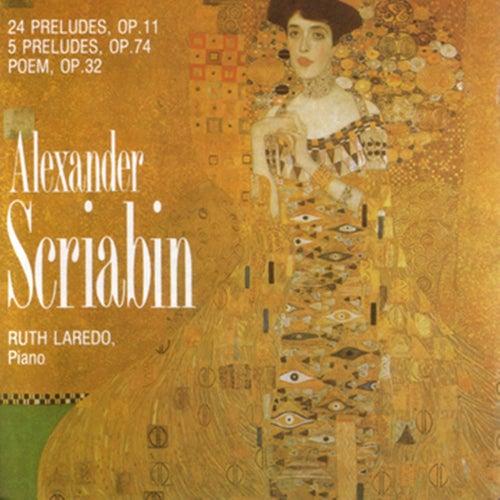 Alexander Scriabin, 24 Preludes, Op.11, 5 Preludes, Op. 74, Poem Op,32 by Alexander Scriabin