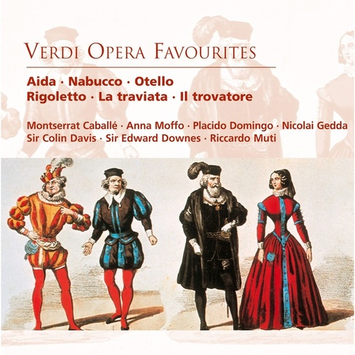 Verdi: Opera Favourites by Various Artists