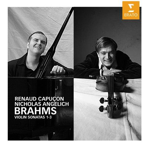 Brahms: Violin Sonatas de Nicholas Angelich