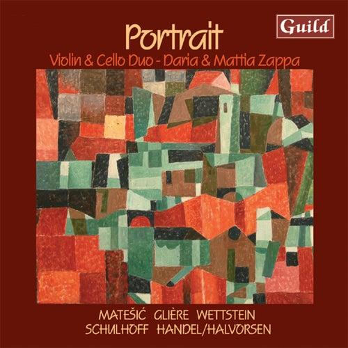 Portrait: Violin and Cello Duo von Mattia Zappa