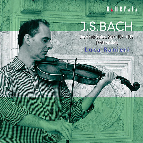 J.S.Bach: The 6 Solo Suites, BWV 1007-1012 [Viola version] by Luca Ranieri