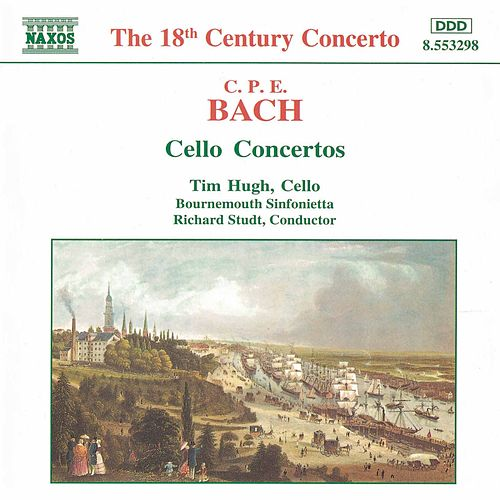 Cello Concertos by Carl Philipp Emanuel Bach