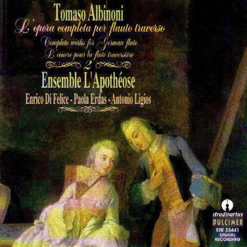 Albinoni: L'opera Completa Per Flauto Traverso de Tomaso Albinoni