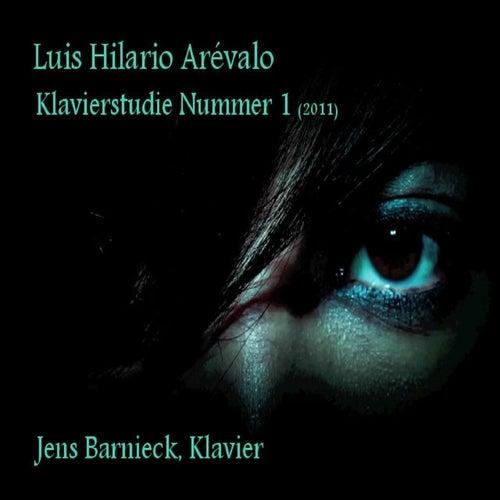 Luis Hilario Arévalo: Klavierstudie Nummer 1 von Jens Barnieck