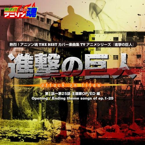 Netsuretsu! Anison Spirits THE BEST -Cover Music Selection- TV Anime Series ''Attack on Titan'' vol.1 von Various Artists