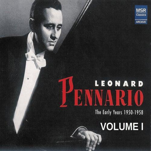 Leonard Pennario: The Early Years 1950-1958, Vol. 1 de Leonard Pennario