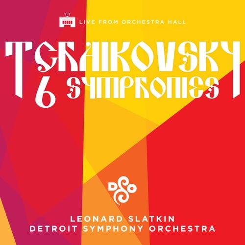 Tchaikovsky: The Six Symphonies von Leonard Slatkin