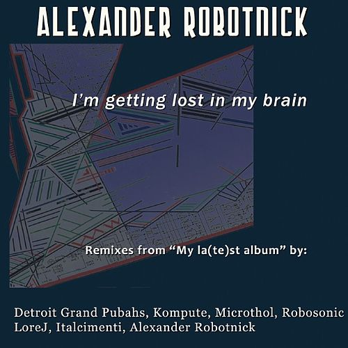I'm Getting Lost In My Brain de Alexander Robotnick