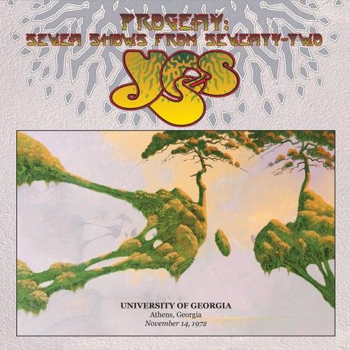 Live at University Of Georgia, Athens, Georgia, November 14, 1972 by Yes