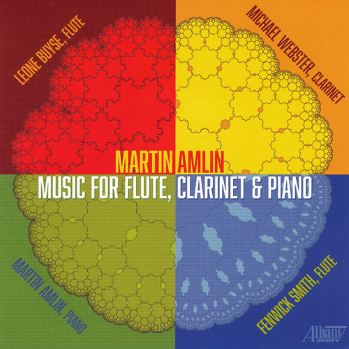 Martin Amlin: Music for Flute, Clarinet & Piano von Various Artists