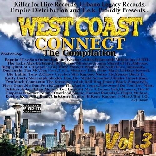 West Coast Connect the Compilation Vol. 3 de Various Artists
