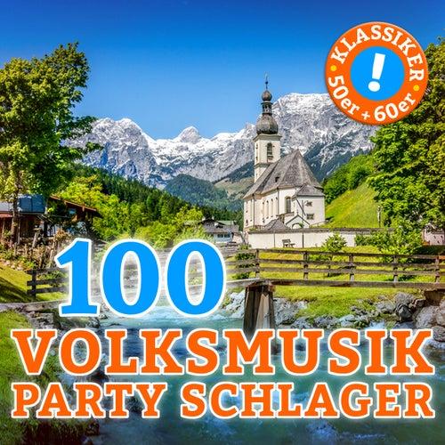 Volksmusik Party Schlager (100 Partyschlager Klassiker der 50er & 60er) de Various Artists
