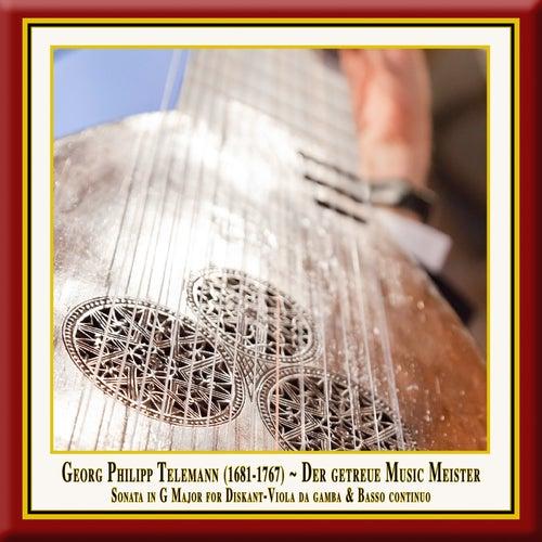 Telemann: Der getreue Music-Meister, Viola da Gamba Sonata in G Major, TWV 41:G6 by Simone Eckert