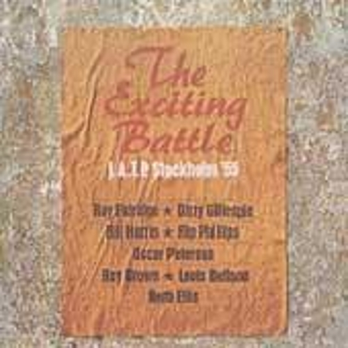 The Exciting Battle: J.A.T.P Stockholm '55 by Jazz at the Philharmonic
