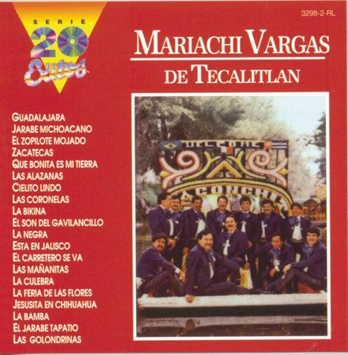 Serie 20 Exitos de Mariachi Vargas de Tecalitlan