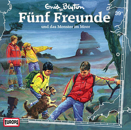 039/und das Monster im Moor by Fünf Freunde
