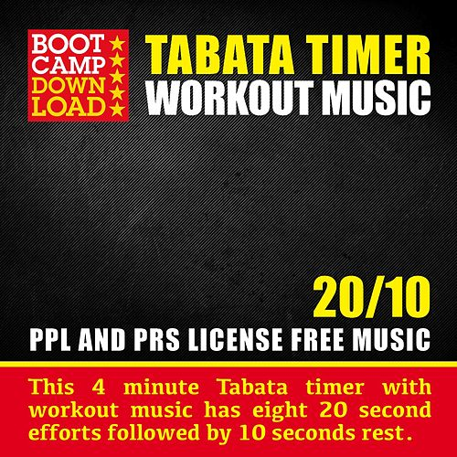 Tabata Timer With Workout Music 20 / 10 by Daniel Steptoe