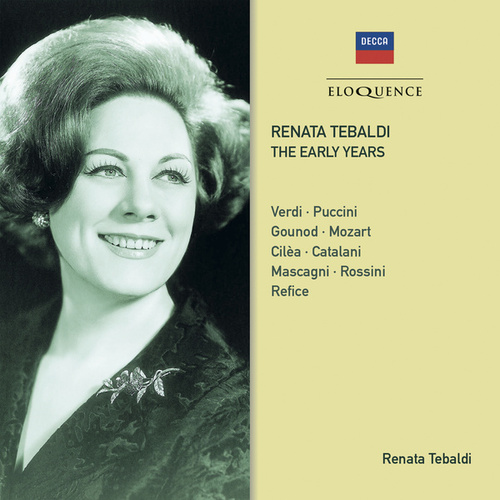 Renata Tebaldi - The Early Years de Alberto Erede