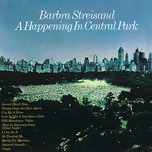 A Happening In Central Park de Barbra Streisand
