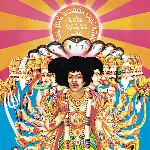 Axis: Bold As Love von Jimi Hendrix