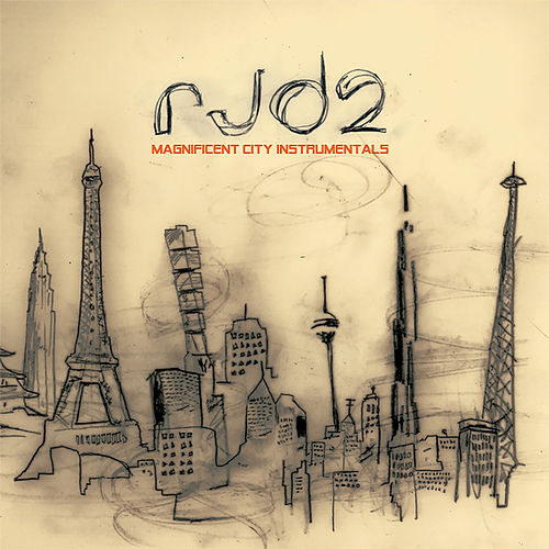 Magnificent City Instrumentals de RJD2