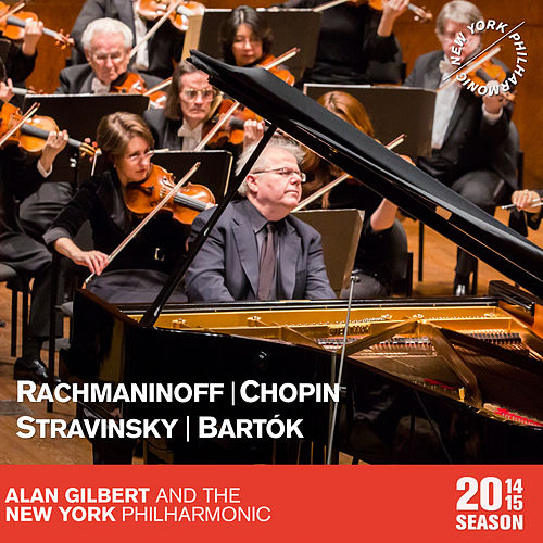 Rachmaninoff: Vocalise - Chopin: Piano Concerto in F Minor - Stravinsky: The Firebird Suite - Bartók: The Miraculous Mandarin Suite von New York Philharmonic