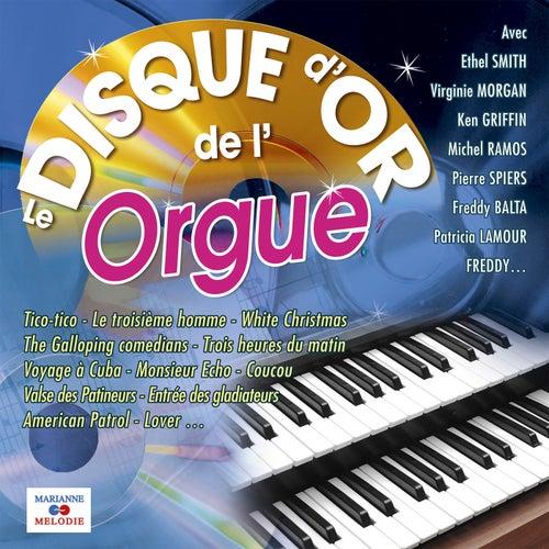 Le disque d'or de l'orgue de Various Artists