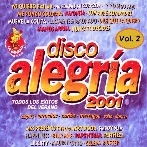 Disco Alegría 2001 Vol. 2, Éxitos Salsa y Merengue de Various Artists