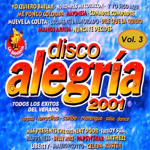 Varios - Disco Alegría 2001 Vol. 3, Éxitos del Dance von Various Artists