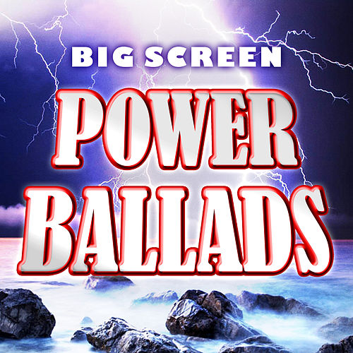 Big Screen Power Ballads de Soundtrack Wonder Band