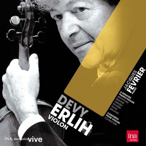 Sonates pour violon et piano de Devy Erlih