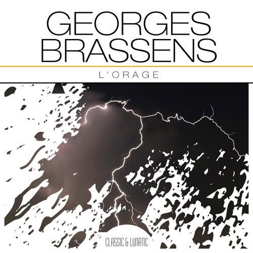 L'Orage de Georges Brassens