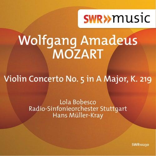 Mozart: Violin Concerto No. 5 in A Major, K. 219 by Lola Bobesco