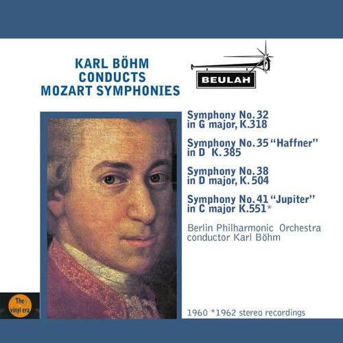 Karl Böhm Conducts Mozart Symphonies von Berlin Philharmonic Orchestra