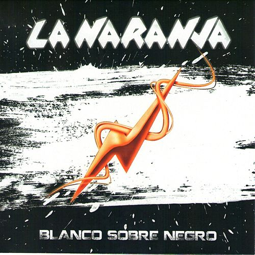 Blanco sobre negro by naranja