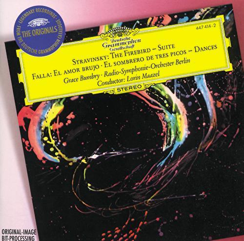 Stravinsky: The Firebird Suite / Falla: El Amor Brujo; El Sombrero De Tres Picos di Radio-Symphonie-Orchester Berlin