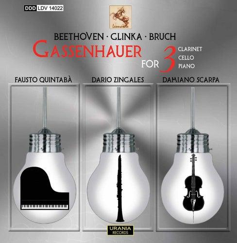 Beethoven, Glinka & Bruch: Gassenhauer for 3 de Dario Zingales