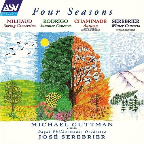 Milhaud: Concertino de printemps / Rodrigo: Concierto de estio / Chaminade: Automne / Serebrier: Winter Concerto by José Serebrier