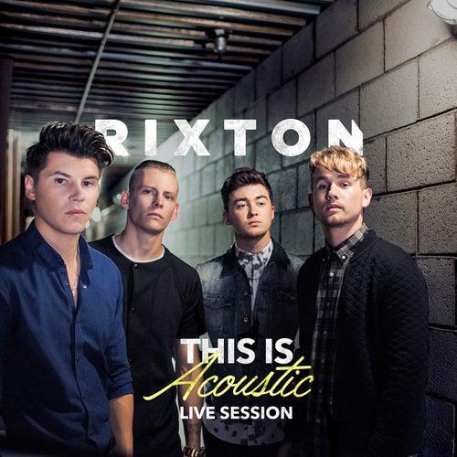 This Is Acoustic de Rixton