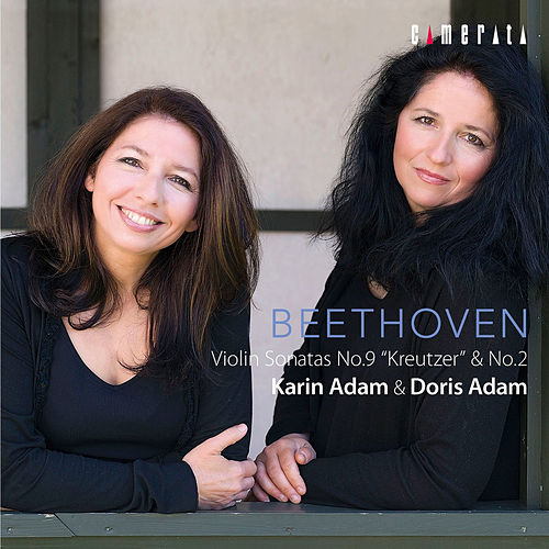 Beethoven: Violin Sonatas No. 9 'Kreutzer' & No. 2 de Doris Adam